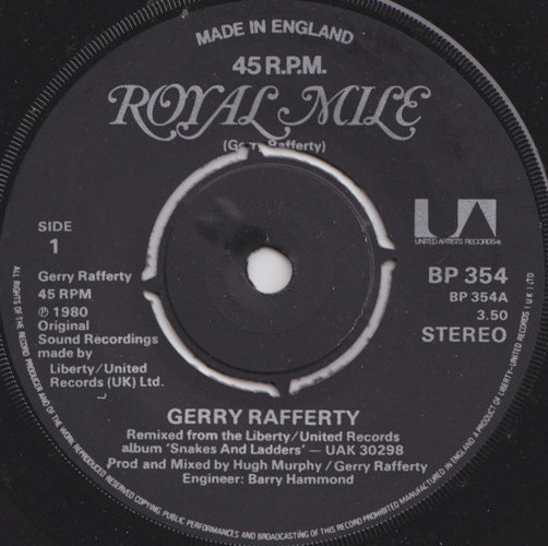 Gerry Rafferty - Royal Mile