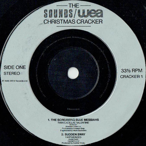 Various - The Sounds / WEA Christmas Cracker