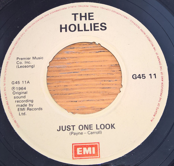 The Hollies - Just One Look / Here I Go Again
