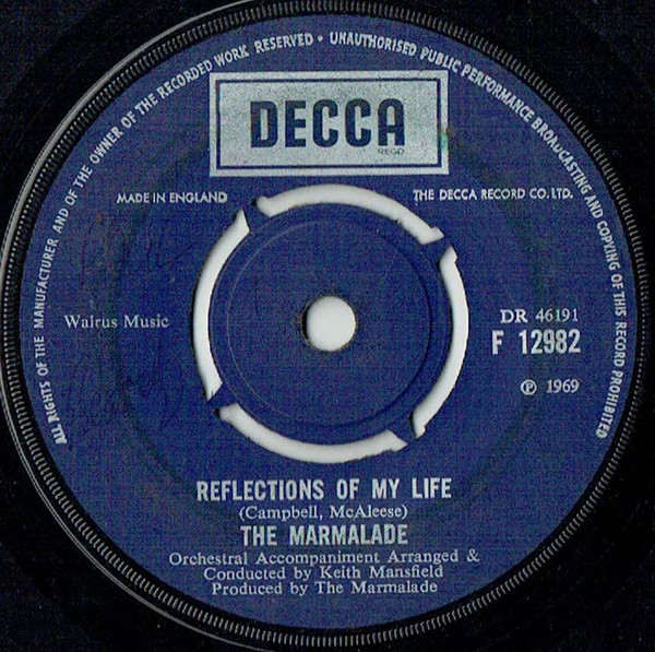 The Marmalade - Reflections Of My Life
