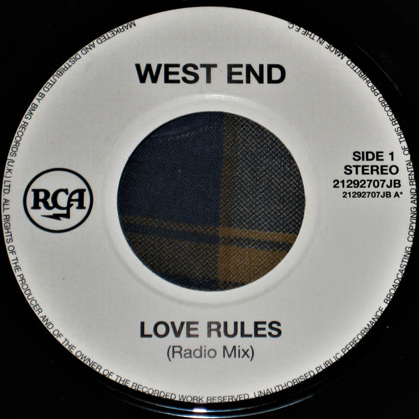 West End - Love Rules