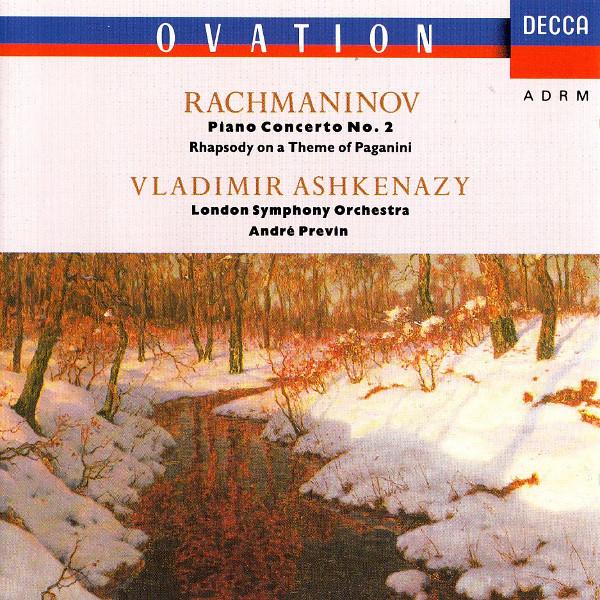Rachmaninoff, Vladimir Ashkenazy, Andr? Previn LSO - Piano Concerto No. 2 ? Rhapsody On A Theme
