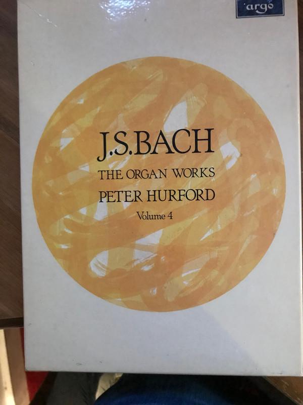 Johann Sebastian Bach, Peter Hurford -  The Organ Works - Volume 4