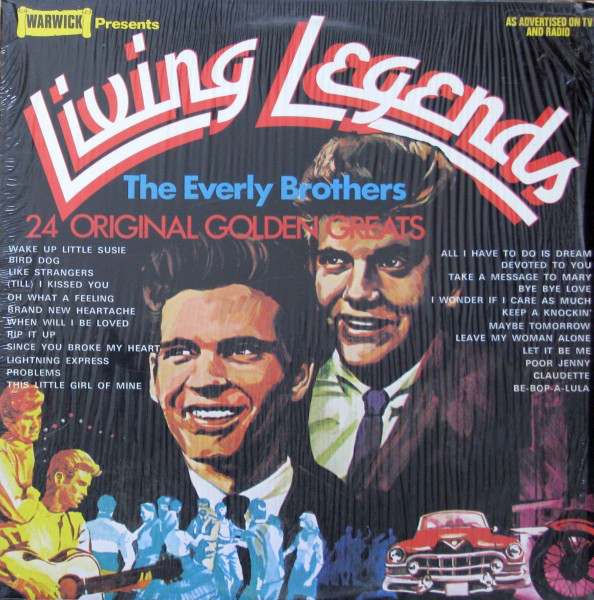The Everly Brothers - Living Legends