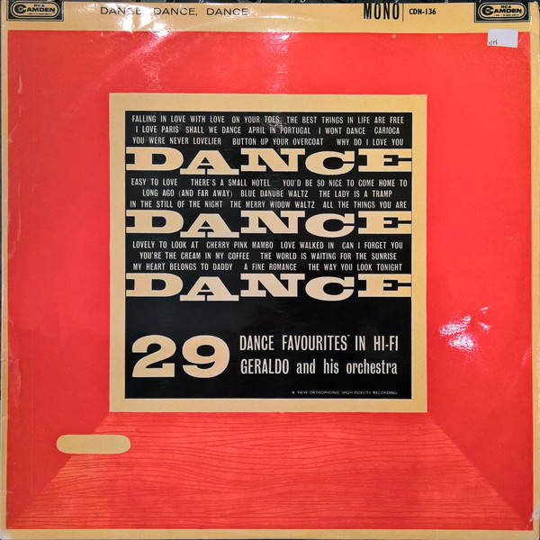 Geraldo And His Orchestra -  Dance Dance Dance 29 Favourites In Hi-Fi