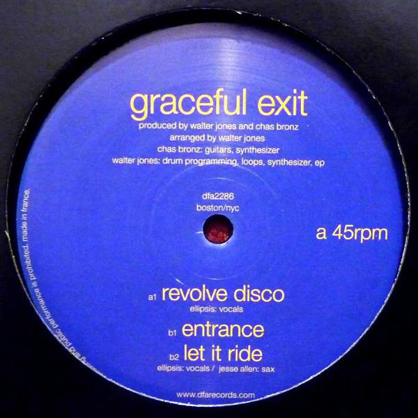 Graceful Exit - Revolve Disco