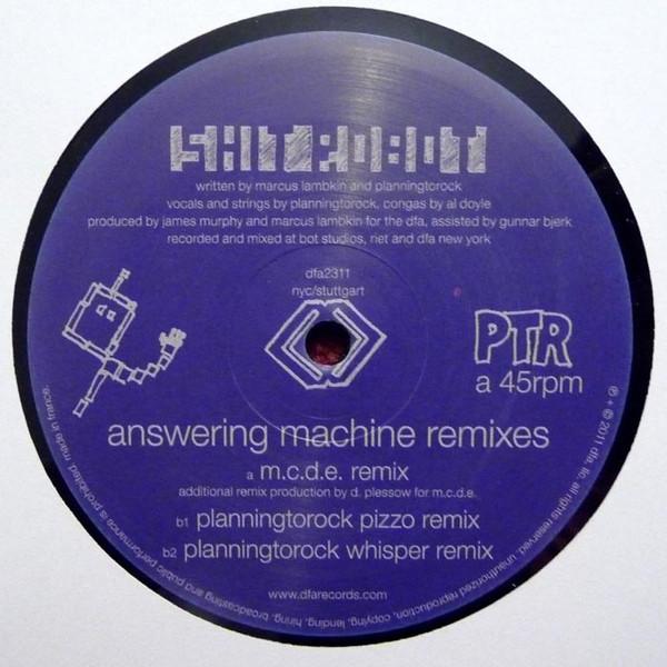 Shit Robot - Answering Machine Remixes