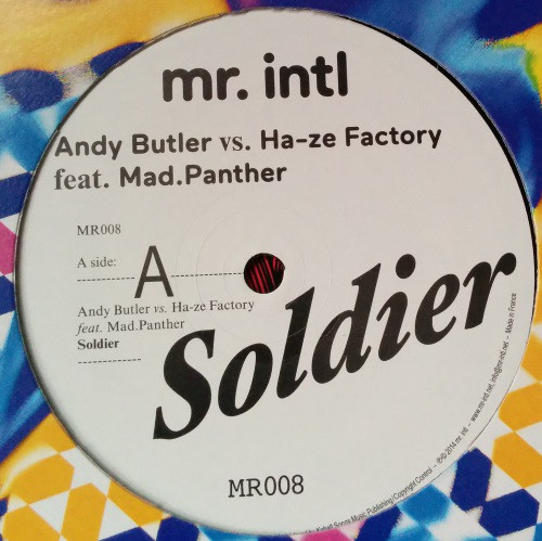 Andy Butler vs. Ha-ze Factory - Soldier