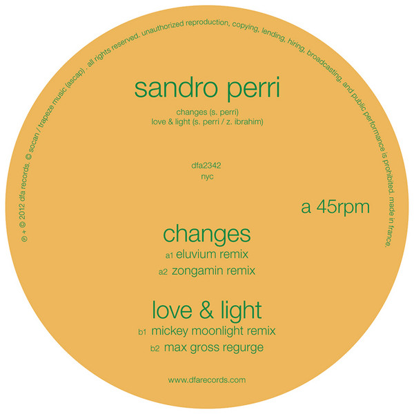 Sandro Perri - Changes
