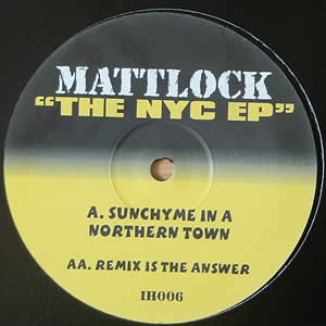 MATTLOCK - THE NYC EP
