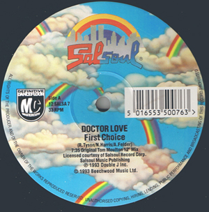 FIRST CHOICE - Doctor Love / Let No Man Put Asunder