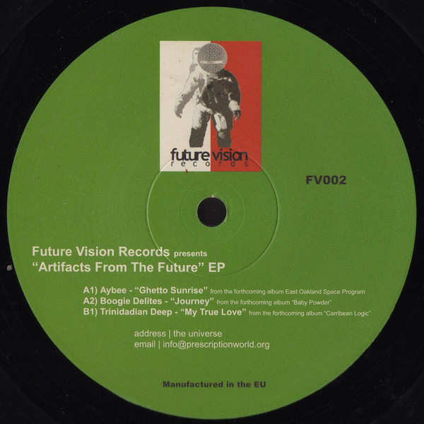 Various - Artifacts From The Future EP