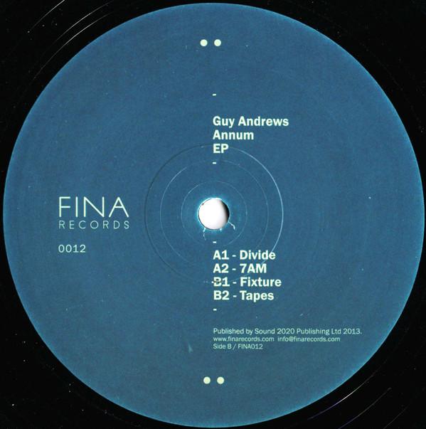 Guy Andrews - Annum EP