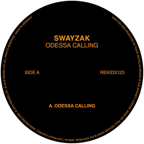 Swayzak - Odessa Calling