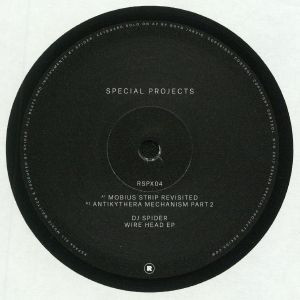 DJ Spider - Wire Head Ep