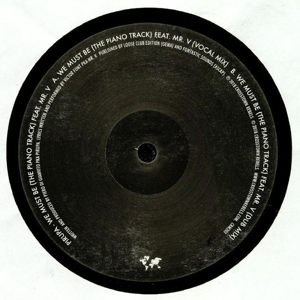 Pirupa Feat Mr. V - We Must Be (That Piano Track)