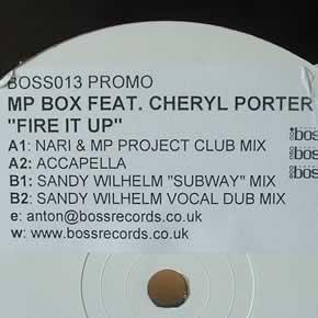 MP BOX feat CHERYL PORTER - FIRE IT UP