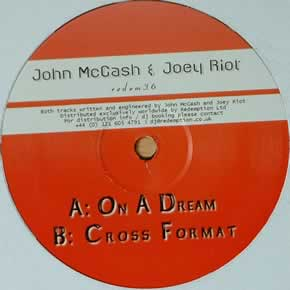 JOHN McCASH & JOEY RIOT - ON A DREAM / CROSS FORMAT