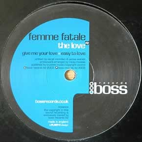 FEMME FATALE - THE LOVE EP