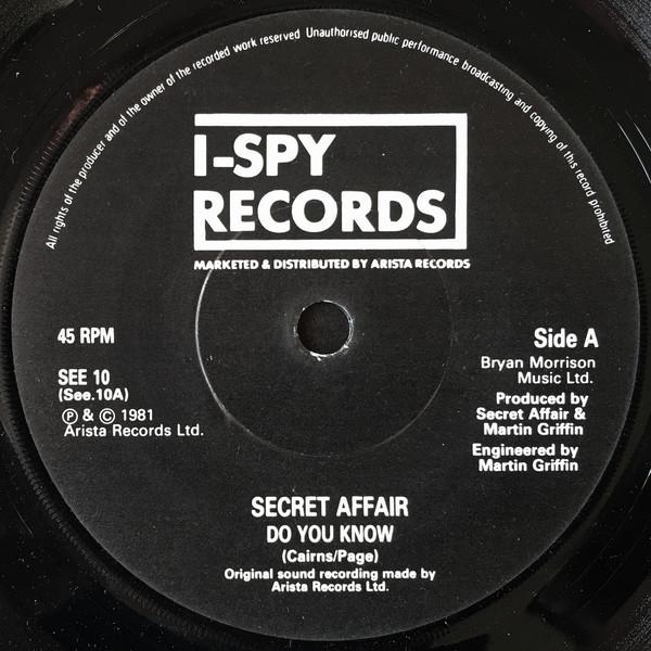 Secret Affair - Do You Know