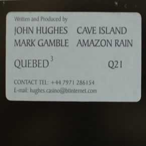 JOHN HUGHES / MARK GAMBLE - CAVE ISLAND / AMAZON RAIN