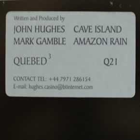 JOHN HUGHES / MARK GAMBLE - CAVE ISLAND / AMAZON RAIN