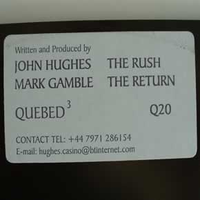 JOHN HUGHES / MARK GAMBLE - THE RUSH / THE RETURN