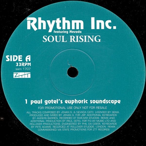 RHYTHM INC. - SOUL RISING