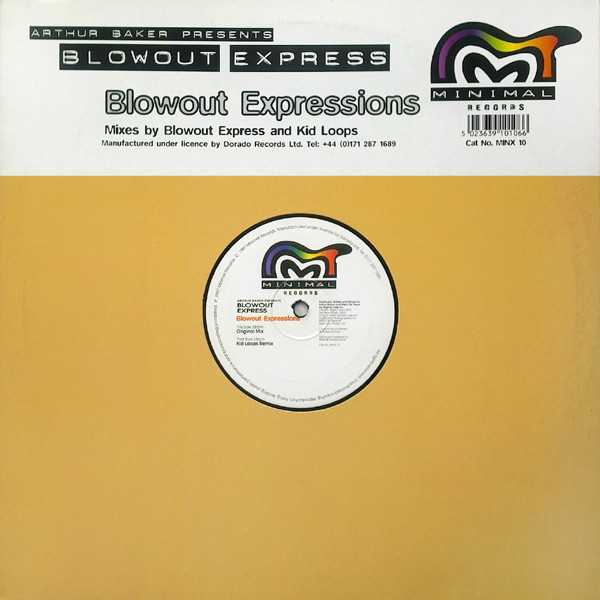 ARTHUR BAKER pres BLOW OUT EXPRESS - BLOWOUT EXPRESSIONS
