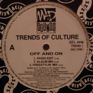 TRENDS OF CULTURE - OFF AND ON
