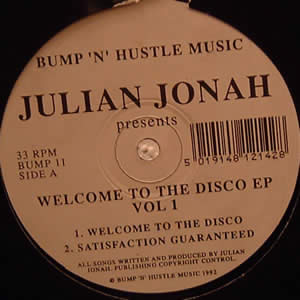 JULIAN JONAH - WELCOME TO THE DISCO EP VOL 1