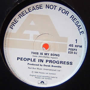 PEOPLE IN PROGRESS - THIS IS MY SONG