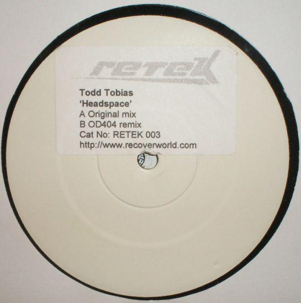 TODD TOBIAS - HEADSPACE