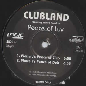 CLUBLAND - PEACE OF LUV