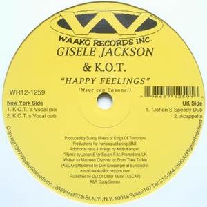 GISELE JACKSON & K.O.T. - HAPPY FEELINGS