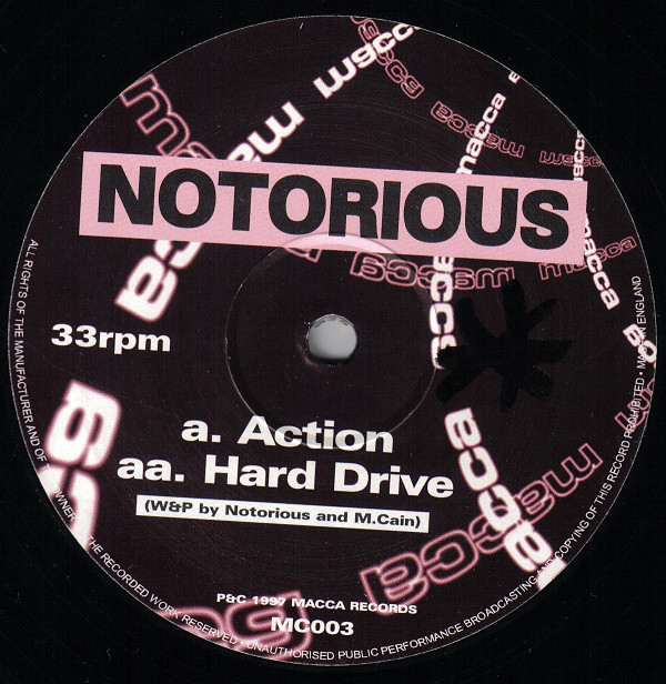 Notorious - Action / Hard Drive