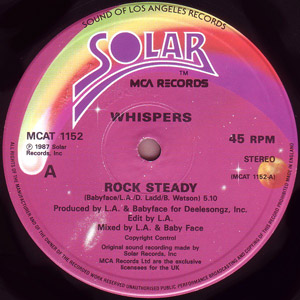 Whispers, The - Rock Steady / Are You Going My Way