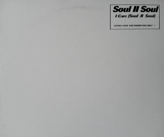SOUL II SOUL - I Care (soul Ii Soul) Record