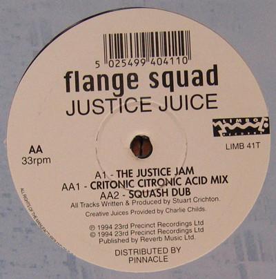 Flange Squad - Justice Juice