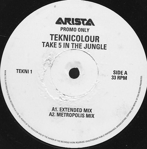 Teknicolour - Take 5 In The Jungle