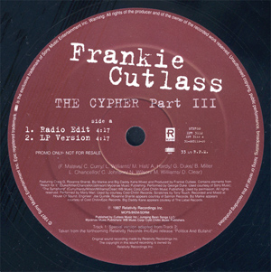 Frankie Cutlass - The Cypher Part III