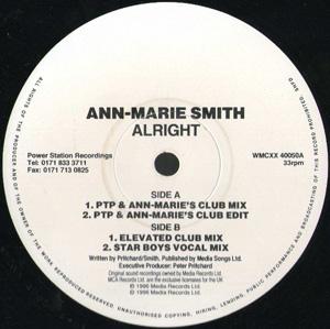 ANN-MARIE SMITH - ALRIGHT (PROMO 2)