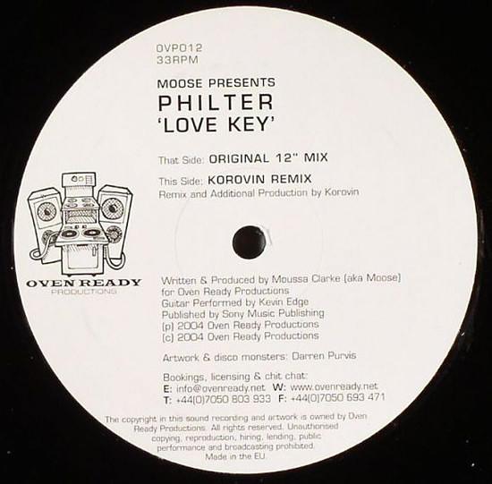 Philter - LOVE KEY