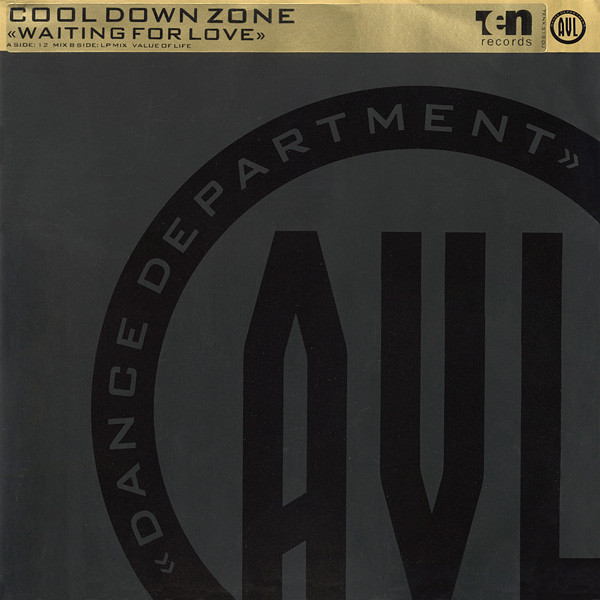 COOL DOWN ZONE - Waiting For Love - 12 inch x 1