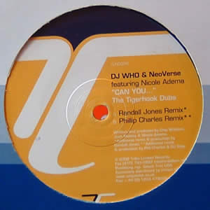 DJ WHO AND NEOVERSE - CAN YOU (THE TIGERHOOK DUBS)