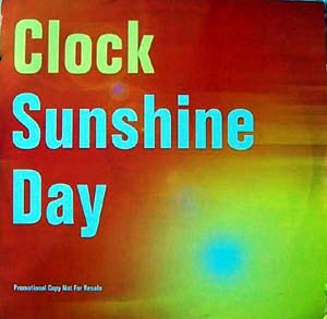 CLOCK - Sunshine Day