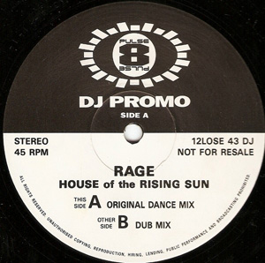 RAGE - House Of The Rising Sun