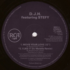 DJ H Featuring Stefy - Move Your Love