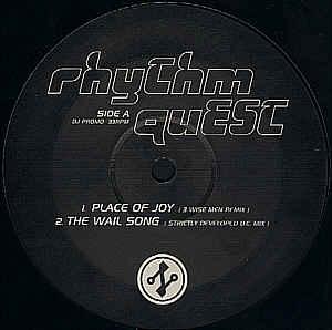 RHYTHM QUEST - Place Of Joy EP Part 1