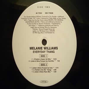 MELANIE WILLIAMS - EVERYDAY THANG